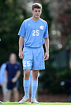 27 November 2011: North Carolina's Rob Lovejoy. The University of North Carolina Tar Heels defeated the Indiana University Hoosiers 1-0 in overtime at Fetzer Field in Chapel Hill, North Carolina in an NCAA Men's Soccer Tournament third round game.