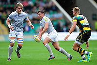 George Ford of Bath Rugby in possession. Aviva Premiership match, between Northampton Saints and Bath Rugby on September 3, 2016 at Franklin's Gardens in Northampton, England. Photo by: Patrick Khachfe / Onside Images