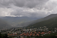 Thimpu city, Capital of Bhutan. Arindam Mukherjee..