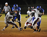 Water Valley's Jeoffrey Gordon (29) runs vs. Nettleton in Water Valley, Miss. on Friday, October 14, 2011. Water Valley won 53-7.