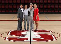 STANFORD, CA - September, 20, 2016: The 2016-2017 Stanford Women's Basketball Team.