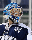 Casey DeSmith (UNH - 29) - The University of Maine Black Bears defeated the University of New Hampshire Wildcats 5-4 in overtime on Saturday, January 7, 2012, at Fenway Park in Boston, Massachusetts.