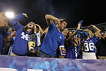 UK students cheer onthe Cats in the game against Auburn at Commonwealth Stadium on Saturday, Oct. 9, 2010. Photo by Scott Hannigan | Staff