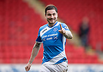 St Johnstone v Dundee&hellip;11.03.17     SPFL    McDiarmid Park<br />Paul Paton celebrates at full time<br />Picture by Graeme Hart.<br />Copyright Perthshire Picture Agency<br />Tel: 01738 623350  Mobile: 07990 594431