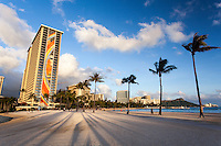 The Hilton's Rainbow Tower, Waikiki, O'ahu.