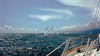 Sailing, Sailboat Racing, Southern California, Santa Monica Bay, South Bay, SoCal, USA