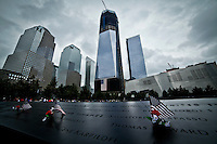 Ten years on from the day the 9/11 terrorist attacks From Los Angeles to New York, formal ceremonies are planned to remember the nearly 3,000 who perished from more than 90 countries. New York september 2011. VIEWpress/ Eduardo Munoz Alvarez