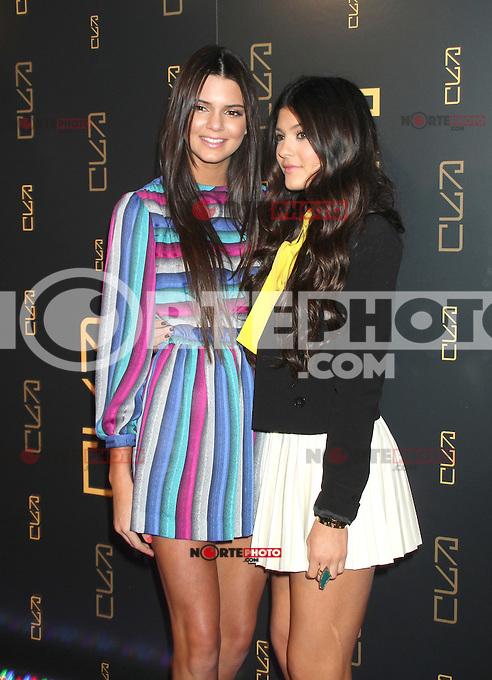April 23, 2012 Kendall Jenner, Kylie Jenner  asisten a la inauguraci&oacute;n del restaurante RYU en 46 Gansevort Street en Nueva York.<br /> (* Foto*&copy;RW/MediaPunch*/NortePhoto.com*)<br /> * ** SOLO*VENTA* EN*M&Eacute;XICO * *
