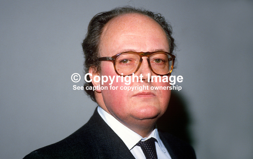 Honorable Hugh O'Neill, chairman, Belfast International Airport, N Ireland, UK, 19880205HON..Copyright Image from Victor Patterson, 54 Dorchester Park, Belfast, UK, BT9 6RJ..Tel: +44 28 9066 1296.Mob: +44 7802 353836.Voicemail +44 20 8816 7153.Skype: victorpattersonbelfast.Email: victorpatterson@me.com.Email: victorpatterson@ireland.com (back-up)..IMPORTANT: If you wish to use this image or any other of my images please go to www.victorpatterson.com and click on the Terms & Conditions. Then contact me by email or phone with the reference number(s) of the image(s) concerned.
