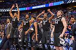 ORLANDO, FL - MARCH 18: The University of Florida takes on the University of Virginia during the 2017 NCAA Men's Basketball Tournament held at Amway Center on March 18, 2017 in Orlando, Florida. (Photo by Matt Marriott/NCAA Photos via Getty Images)
