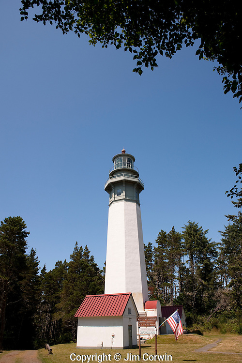 Westport Lighthouse State Park with Westport Lighthouse