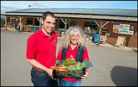 BNPS.co.uk (01202 558833)<br /> Pic: TomWren/BNPS<br /> <br /> Owner Simon Holland and employee Marie Funnell outside Washingpool Farm Shop which was where Lenny Henry worked in Broadchurch.<br /> <br /> While the whole country has been enjoying the final series of TV drama Broadchurch, no one is relishing the show more than the businesses of West Bay.<br /> <br /> The 'Broadchurch effect' has sent visitor numbers to the sleepy Dorset town, where the show is set, skyrocketing in the past four years.<br /> <br /> And the latest, and final, series, which finishes on Monday, has only fanned the flames, with a host of new businesses benefiting from their association with the show.<br /> <br /> Tourism organisation Visit Dorset has experienced an increase of 133 per cent in enquries and bookings on its website.<br /> <br /> Local businesses which feature on screen have also seen their profits soar thanks to 'Broadies' who stop for a selfie before calling in to make a purchase.<br /> <br /> One premises in particular has been the Washingpool Farm Shop, which is Flintcombe Farm Shop run by Lenny Henry's character Ed Burnett in Broadchurch.