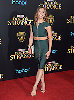 LOS ANGELES, CA. October 20, 2016: Allison Holker at the world premiere of Marvel Studios' &quot;Doctor Strange&quot; at the El Capitan Theatre, Hollywood.<br /> Picture: Paul Smith/Featureflash/SilverHub 0208 004 5359/ 07711 972644 Editors@silverhubmedia.com