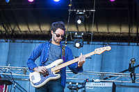 The War on Drugs performing at Harvest Festival, Werribee Park, Melbourne, 11 November 2012