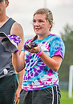 30 May 2015: Awards are given out after the conclusion of the Vermont Youth Ultimate League 2015 High School State Championships at Milton Senior High School in Milton, Vermont. Mandatory Credit: Ed Wolfstein Photo *** RAW (NEF) Image File Available ***