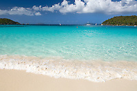 Hawksnest Beach, Virgin Islands National Park.St. John, US Virgin Islands