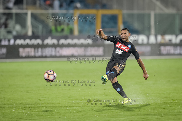 Ghoulam Faouzi (Napoli) during the Italian Serie A football match Pescara vs SSC Napoli on August 21, 2016, in Pescara, Italy. Photo by Adamo Di Loreto