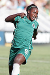 26 July 2009: Eniola Aluko (9) of Saint Louis Athletica.  Saint Louis Athletica tied the visiting FC Gold Pride 1-1 in a regular season Women's Professional Soccer game at Anheuser-Busch Soccer Park, in Fenton, MO.