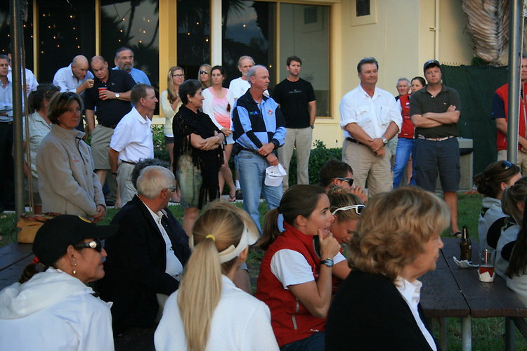 Opening ceremony for the US Olympic Team Selection Regatta, Key Biscayne Yacht Club, Miami, Fla.