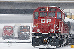 Canadian Pacific Railway Stock Images