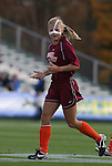 09 November 2008: Virginia Tech's Jennifer Harvey. The University of North Carolina Tarheels defeated the Virginia Tech University Hokies 3-0 at WakeMed Stadium at WakeMed Soccer Park in Cary, NC in the women's ACC tournament championship game.