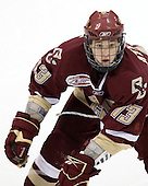 Cam Atkinson (BC - 13) - The Boston College Eagles defeated the Dartmouth Big Green 2-1 (OT) on Sunday, November 30, 2008 at Thompson Arena in Hanover, New Hampshire.