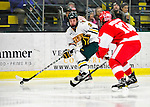 9 January 2011: University of Vermont Catamount forward Wahsontiio Stacey, a Senior from Kahnawake, Quebec, in action against the Boston University Terriers at Gutterson Fieldhouse in Burlington, Vermont. The Catamounts fell to the Terriers 4-2 in Hockey East play. Mandatory Credit: Ed Wolfstein Photo