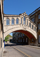 Bridge of Sighs, or Hertford Bridge in Oxford