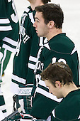 Brandon McNally (Dartmouth - 18) - The Boston College Eagles defeated the visiting Dartmouth College Big Green 6-3 (EN) on Saturday, November 24, 2012, at Kelley Rink in Conte Forum in Chestnut Hill, Massachusetts.