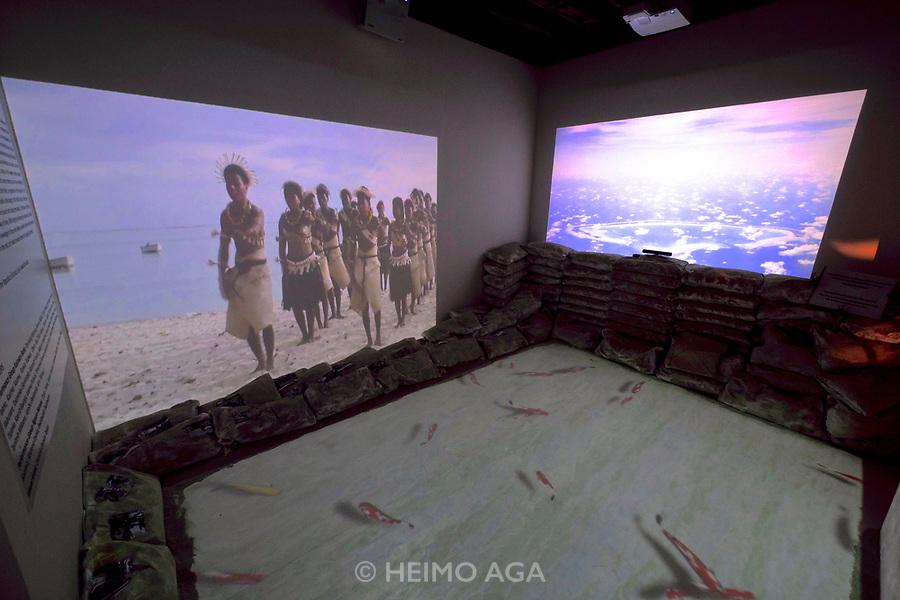 57th Art Biennale in Venice - Viva Arte Viva.<br /> European Cultural Centre - Palazzo Mora. Kiribati exhibition: ARS LONGA, VITA BREVIS! / SINKING ISLANDS, UNSINKABLE ART