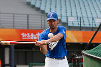 17 August 2007: Samuel Meurant is seen in practice during the Good Luck Beijing International baseball tournament (olympic test event) at the Wukesong Baseball Field in Beijing, China.