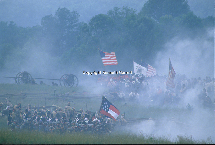 Civil War; reenactment; Manassas; JTHG; Virginia
