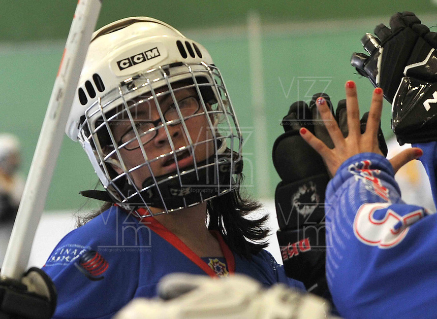 TOULOUSE - FRANCIA: Se realizan en Toulouse Francia los Campeonatos Mundiales de Hockey en Linea en las modalidades de Junior Varones, Damas Mayores, Juvenil Damas y Mayores Varones, con la participaci&mdash;n de 24 paises, del 30 de junio al 13 de julio. <br /> Performed in Toulouse France Hockey World Championships Online in the categories of Junior Men, Senior Women, Junior Men and Senior Ladies, with the participation of 24 countries, from 30 June to 13 July. Photos: VizzorImage / Luis Ramirez / Staff.