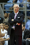 09 November 2012: UNC head coach Roy Williams. The University of North Carolina Tar Heels played the Gardner-Webb University Runnin' Bulldogs at Dean E. Smith Center in Chapel Hill, North Carolina in an NCAA Division I Men's college basketball game. UNC won the game 76-59.
