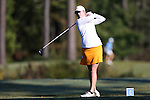16 October 2016: Tennessee's Michaela Williams. The Final Round of the 2016 Ruth's Chris Tar Heel Invitational NCAA Women's Golf Tournament hosted by the University of North Carolina Tar Heels was held at the UNC Finley Golf Club in Chapel Hill, North Carolina.
