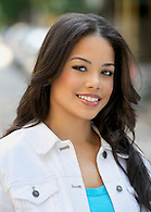 Commercial headshot of an actress.