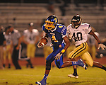 Oxford High's K.T. McCollin (4) vs. New Hope in high school football in Oxford, Miss. on Friday, September 28, 2012. Oxford won 29-17 to improve to 6-0.