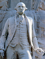 ACID RAIN DAMAGE TO STATUE OF WASHINGTON - AFTER<br />