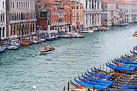 Italy, Venice. Canal Grande.