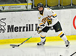 16 October 2010: University of Vermont Catamount forward Kailey Nash, a Junior from Middletown, RI, in action against the Boston College Eagles at Gutterson Fieldhouse in Burlington, Vermont. The Lady Cats fell to the visiting Eagles 4-1 in the second game of their weekend series. Mandatory Credit: Ed Wolfstein Photo