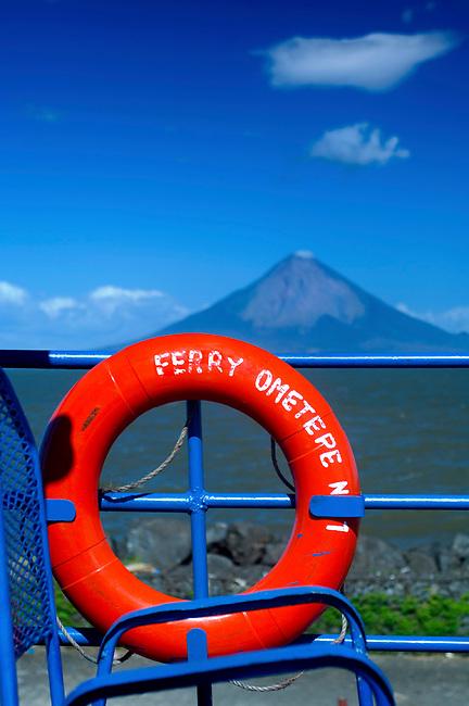 Nicaragua / Isla de Ometepe / Concepcion Volcano / Lake Nicaragua / Ferry / Port San Jorge