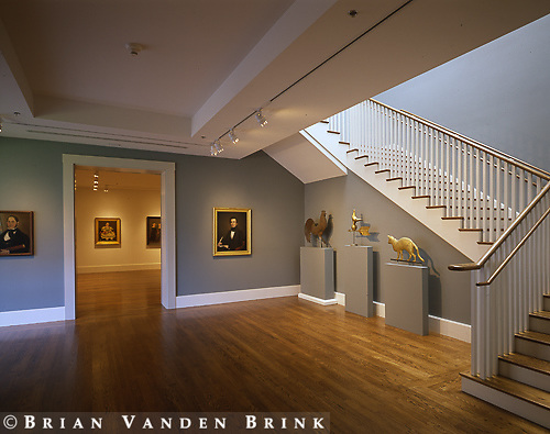 Frederick Fisher Architect.Lunder Wing.Colby College Art Museum.Waterville, Me.