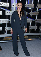HOLLYWOOD, LOS ANGELES, CA, USA - NOVEMBER 10: Christina Chong arrives at the HaloFest - Halo: The Master Chief Collection Launch Event held at Avalon on November 10, 2014 in Hollywood, Los Angeles, California, United States. (Photo by Xavier Collin/Celebrity Monitor)
