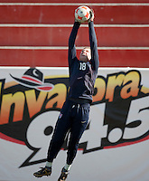 Spencer Riley training before the 2009 CONCACAF Under-17 Championship From April 21-May 2 in Tijuana, Mexico