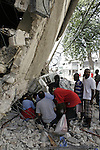 Aftermath of earthquake, Port-au-prince, Haiti, January 14, 2010