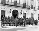 Waterbury's Home Guard was organized in 1917 after the April 6, 1917 declaration of war.
