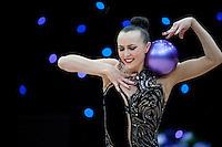 "February 14, 2016 - Tartu, Estonia - ANNA RIZATDINOVA of Ukraine performs in Event Finals at ""Miss Valentine"" 2016 international tournament."