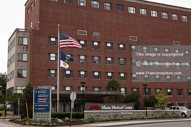 Maine Medical Center in Portland, Maine | Stock photos by ...