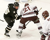 Mark Dube (Army - 15), Nick Prockow (Colgate - 21) - The host Colgate University Raiders defeated the Army Black Knights 3-1 in the first Cape Cod Classic on Saturday, October 9, 2010, at the Hyannis Youth and Community Center in Hyannis, MA.