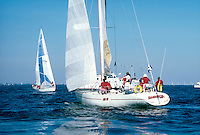 SAILBOATS<br /> Vineyard race posted by Stanford Yacht Club<br />  Start and prestart maneuvers.